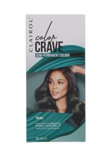 Clairol Color Crave 60ml Hair Col Teal