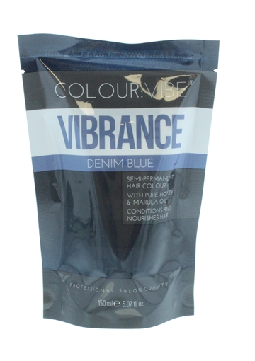 Colour Vibe 150ml Hair Colour Denim Blue