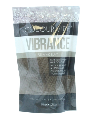 Colour Vibe 150ml Hair Colour Silver Ray