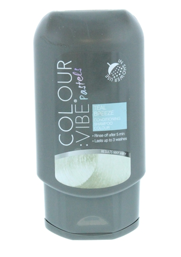Colour Vibe 100ml Shampoo In Colour Teal