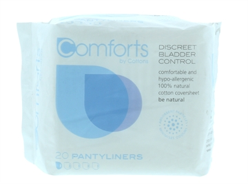 Cottons Discreet Panty Liners 20'S