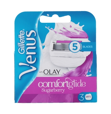 GILLETTE OLAY &VENUS BLADES SUGARBERRY 3'S