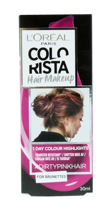 L'OREAL COLORISTA HAIR MAKE-UP BRU PINK 30ML