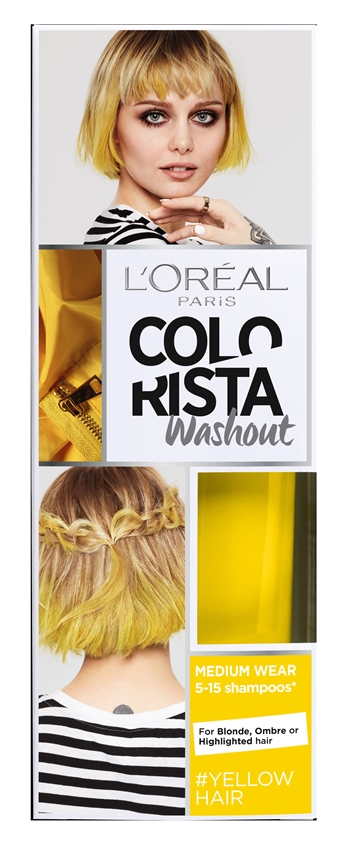 L'OREAL WASHOUT COLOR YELLOW 80ML
