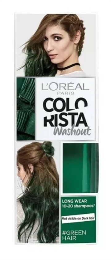 L'OREAL WASHOUT COLOR GREEN 80ML