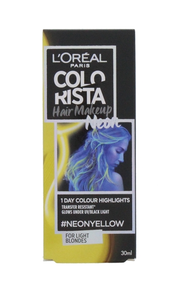L'OREAL COLORISTA HAIR MAKE-UP NEON YEL 30ML