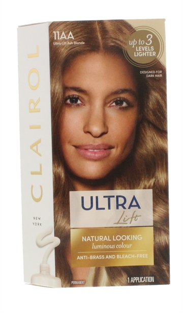 CLAIROL NICE'N EASY HAIR COLOR ULTRA ASH BLND 11AA