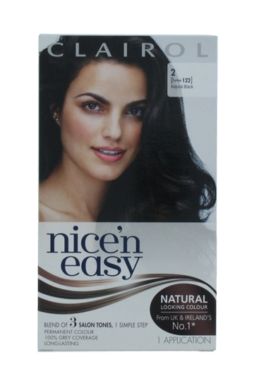 CLAIROL NICE'N EASY HAIR COLOR NAT BLACK