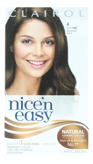 Nice'N Easy Hair Colour Nat Dark Brwn 4