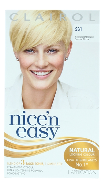 Nice'N Easy Hair Colour Summer Blonde 1