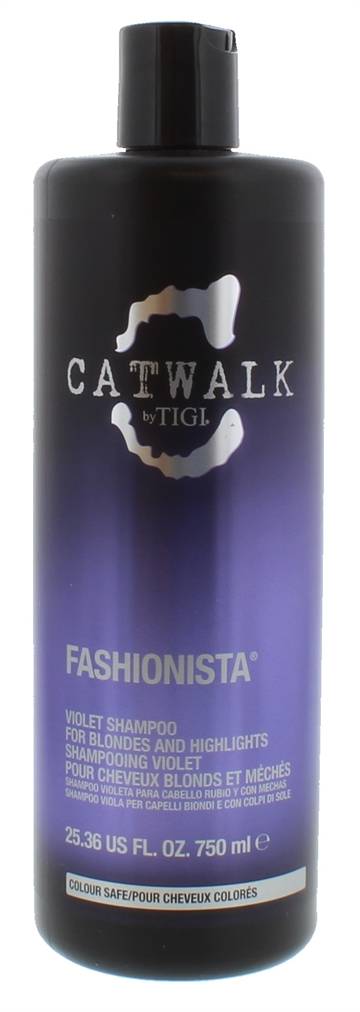 Tigi Catwalk 750ml Shampoo Fashion Violet