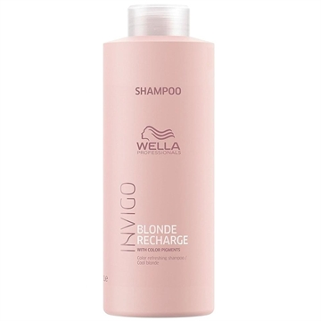 Wella Professional Invigo 1000ml Shampoo Recharge Blonde