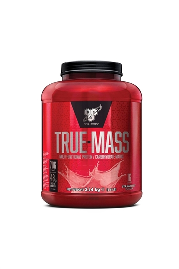BSN True Mass 2,64kg strawberry