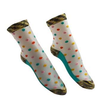 Everneed Cerise multi dot - aqua