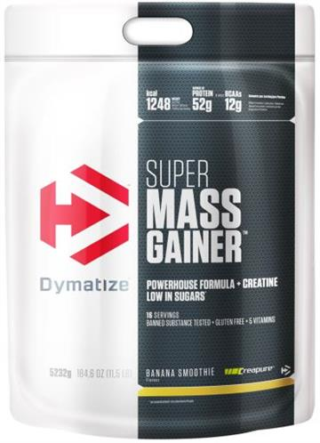 Dymatize Super Mass Gainer 5.2kg banana smoothie