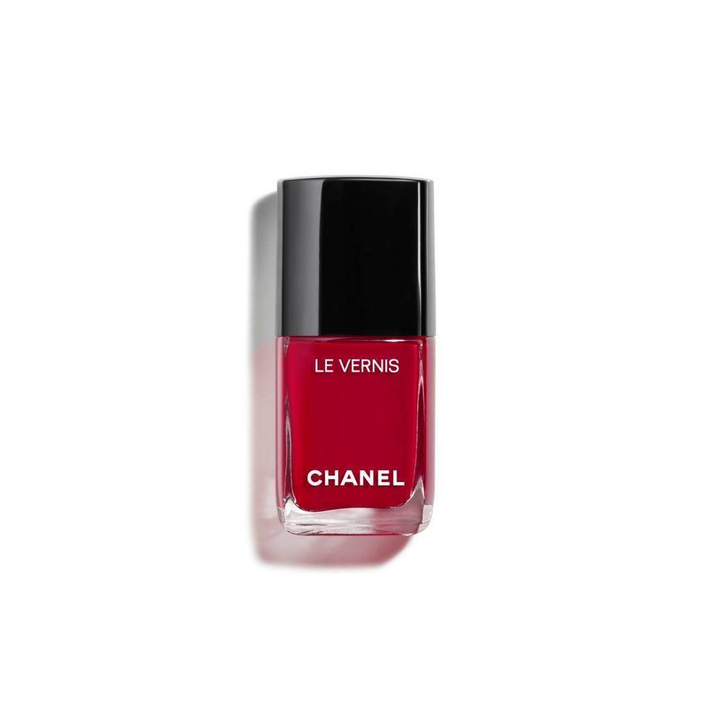 CHANEL LE VERNIS LONGWEAR NAIL COLOUR 08 - PIRATE Nagellack Röd Glitter 13 ml