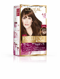 L'Oreal Paris Excellence Creme 4.32 hårfärg Sunny Medium Brown