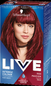Live Color Red Passion R43