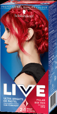 Schwarzkopf Haarcoloration Live Colour XXL Pilar Box Red hårfärg Röd