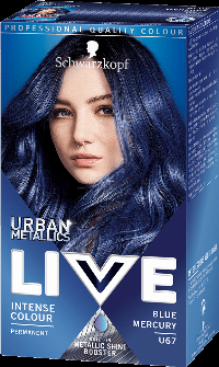 Live Color Blue Mercury U67